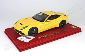 f12 model bbr models f12 berlinetta yellow scuderiamodelli by robert
