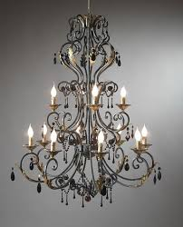 Gothic Chandelier Wrought Iron Wrought Iron Chandeliers Classic And Gothic Wrought Iron