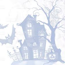 Halloween Monster House Halloween Monster House With Bat And Pumpkins Stock Vector Art