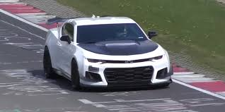 watch the camaro zl1 1le rip a hole through space time at the