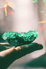 make crystal egg geodes