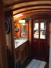interior photos of greg ryan u0027s gypsy wagon tiny houses