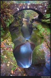 Ohio Traveled Definition images Looking down the devil 39 s bathtub hocking hills ohio usa the jpg