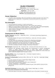 impressive photography resume objective with resume sample