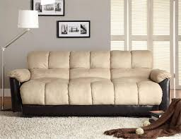 click clack tan futon serene collection style 4790