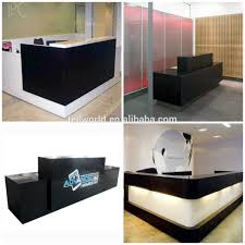Reception Desk Black by Alibaba Manufacturer Directory Suppliers Manufacturers