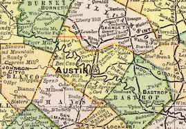 map tx travis county 1897 map