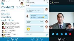 skype pour bureau windows microsofttouch
