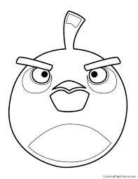 angry birds u2013 bomb the black bird 01 coloring page coloring page