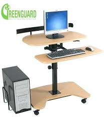 Ergotron Sit Stand by Stand Up Computer Workstation Adjustable Height Stand Up Desk