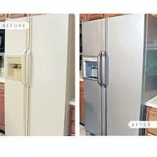 can you paint kitchen appliances liquid stainless steel fridge kit stainless steel paint steel