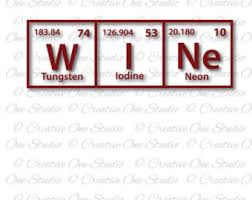 Periodic Table Tungsten Luv U Periodic Table Elements Love You Svg Dxf Eps Studio3 Pdf