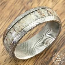 Hawaiian Wedding Rings by Happy Laulea Handmade Wedding Rings Koa Wood Wedding Rings