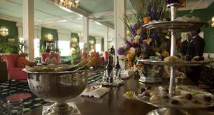 China Flag Buffet Shreveport Historic Grand Hotel Mackinac Island Michigan Family Summer