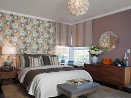 wall pattern for bedroom orange accents wall painted of modern bedroom design idea feat