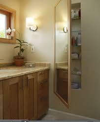 Bathroom Mirror With Storage by 82 Best Pedestal Sink Storage Solutions Images On Pinterest Room