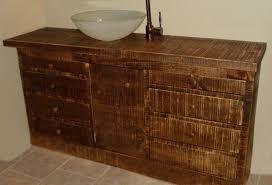 Bathroom Vanity Reclaimed Wood Custom Made Reclaimed Wood Bathroom Vanity By Wooden Company