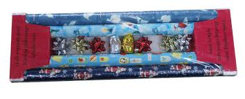bow wrapping paper fancy gift wrapping paper set with bow and ribbon for christmas