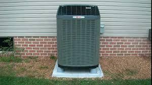 trane xl15i air condition youtube
