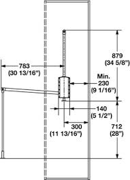pull down closet rod technical information