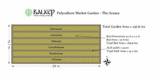 Three Sisters Garden Layout by Balkan Ecology Project The Polyculture Market Garden Study