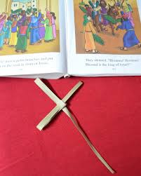 Palm Sunday Crafts For Kids - teach your child how to make a palm cross for palm sunday
