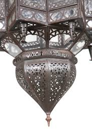 Large Moroccan Chandelier Large Moroccan Star Shaped Light Fixture