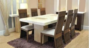 round marble dining table with 6 chairs glass dining table with 6