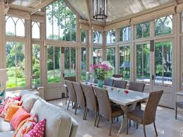 Modern Sunroom Sunroom Dining Room Tryonshorts With Pic Of Modern Sunroom Dining
