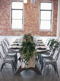 Romantic Industrial Wedding Inspiration Inspired By This