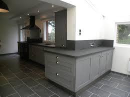 cuisine gris et noir gallery of cuisine en bois gris cuisine gris noir bois nouvelles