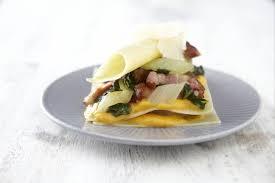 cuisiner les l馮umes anciens recette de lasagne de légumes oubliés au lard facile et rapide