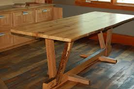 Reclaimed Dining Room Tables Timber Frame Furniture New Energy Works