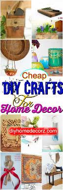 cheap diy crafts for home decor diy home decor