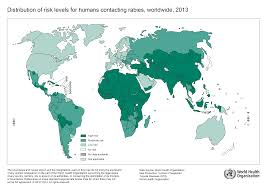 World Map Picture Who Rabies