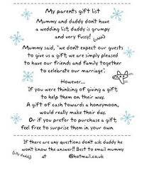 Wedding Gift List Wording Wedding Invitation Wording With Children Vertabox Com
