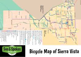 Bisbee Arizona Map by Rides Maps