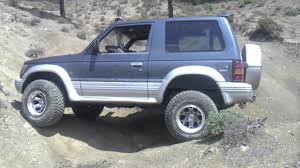 mitsubishi shogun 1998 pajero 2 5 td swb 1992 with lsd cyprus youtube