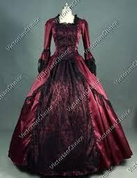 Renaissance Halloween Costume Renaissance Marie Antoinette Vampire Dress Steampunk
