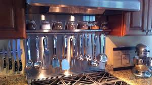 Custom Stainless Steel Spice Rack Riverside Medford MA - Custom stainless steel backsplash