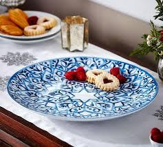hanukkah plate rebekkah serving platter pottery barn