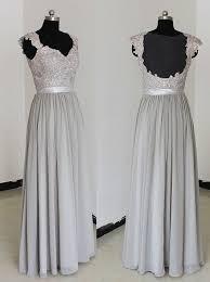 silver bridesmaid dresses buy sweetheart floor length chiffon silver bridesmaid