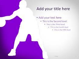free sports powerpoint templates presentationgo com