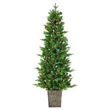artificial christmas tree 6 pre lit artificial christmas tree porch pot pine