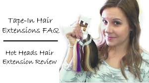 hotheads extensions in hair extensions faq hot heads hair extensions review