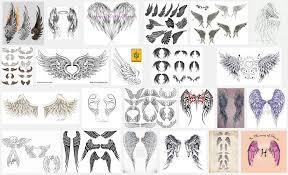 angel wing tattoo designs small best tattoo 2018