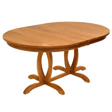 cherry wood tables cherry blossom double pedestal table solid
