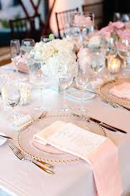 Wedding Reception Table Settings Wedding Table Setting Ideas Destination Wedding Ideas Pink Linens