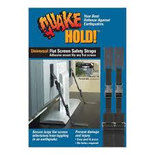 amazon com quakehold 4520 universal flat screen safety straps