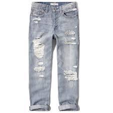 Abercrombie Ripped Jeans Light Wash Jeans Ile Ilgili Pinterest U0027teki En Iyi 25 U0027den Fazla